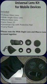 *NEW* Universal Lens Kit W/Carry Case in Alamogordo, New Mexico
