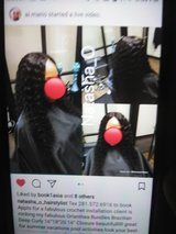 Brazilian Deep Curly Sew In in Bellaire, Texas