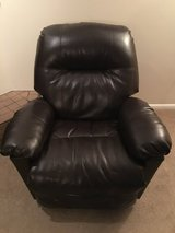 Faux Leather Recliner in Fairfax, Virginia