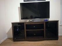 55 in Samsung TV 8 Series with entertainment center in Honolulu, Hawaii