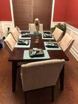 Wooden Dining Room table w/6 chairs **PRICE REDUCED** in Hinesville, Georgia