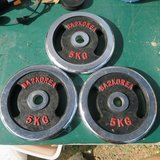 10p each weights + ankle weigts in Okinawa, Japan