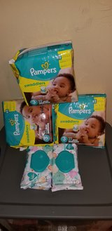 Pampers bundle size 3 in bookoo, US