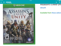 Looking to Buy Assassins Creed XBOX one in Okinawa, Japan