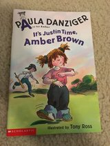 It's Justin Time, Amber Brown book (A is for Amber) in Camp Lejeune, North Carolina