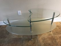 IKEA GLASS two tier coffee table in 29 Palms, California