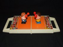 Vintage Bumbling Boxing Game in Carry Case by Tomy in Naperville, Illinois