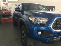 5 X 2018 Toyota Tacoma's just added to EU Military AutoSource (MAS) stock in Shape, Belgium