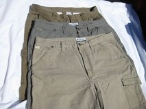 LOT-OF-3-COLUMBIA-SHORTS-CARGO-DENIM-SIZE-38 in Cherry Point, North Carolina