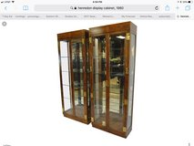TIMELESS Henredon display cabinets - 2 available in Naperville, Illinois