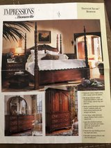 PRICE REDUCED BEAUTIFUL King size bedroom furniture set in Naperville, Illinois