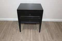 Black Distressed Side Table in Excellent condition! in Spring, Texas