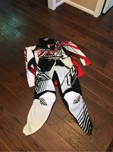 Fly Motocross Riding shirt, pants, and gloves in Kingwood, Texas