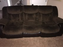 microfiber couch and recliners in Fort Campbell, Kentucky
