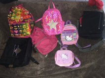 Back to school backpacks & lunch boxes in 29 Palms, California