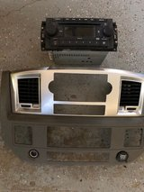 Dash Shroud with Radio/CD Player for 2009 Dodge Ram 2500 - $75 in Fort Riley, Kansas