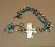 """Blessed"" bracelet in Bellaire, Texas"