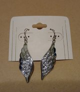 Angel wing earrings -new in Bellaire, Texas