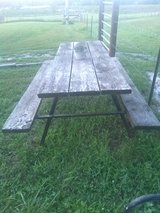 Picnic Table in Fort Leonard Wood, Missouri