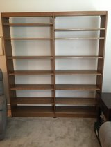 Wood Shelving Unit in Brookfield, Wisconsin
