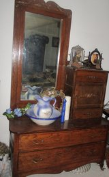 Antique dresser oak in Fort Leonard Wood, Missouri