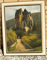 Burg Eltz castle in Rhineland-Pfalz / Mosel, Germany. Construction started prior to 12 Ct. in Spangdahlem, Germany