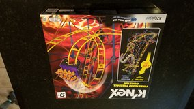 Knex Firestorm Freefall Coaster 51539 NEW in Sandwich, Illinois