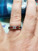 rainbow titanium size 6 engagement ring in Fort Leonard Wood, Missouri