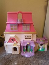 Fisher-Price dollhouse in Fort Irwin, California