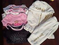 Juicy Couture 6 pc. lot like new 3 - 6 mo baby girl in Camp Pendleton, California