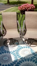 Outdoor chairs in Tinley Park, Illinois