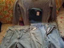 Size 36/29 LEVIES AND WRANGLERS 50 pair in Sanford, North Carolina