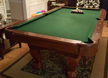 Sportcraft Ball and Claw Leg Pool Table in Fort Benning, Georgia