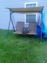REDUCED!!!!!!!!!!!OZARK TRAIL 2 PERSON BUNGEE CANOPY SWING in Fort Drum, New York