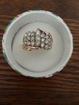 10k Waterfall Cluster Ring *Reduced in Cleveland, Texas