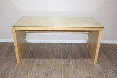 IKEA Desk with Glass top wooden Frame in Kingwood, Texas