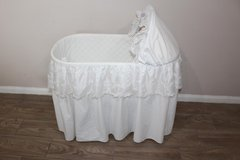 Baby bassinet by Burlington Basket Co. in CyFair, Texas