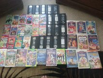 KIDS VCR TAPES OVER 50 TAPES - GREAT FOR SMALL KIDS. in Camp Pendleton, California