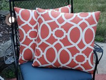 set of 2 outdoor pillows in Joliet, Illinois
