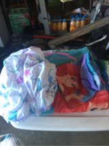 Little mermaid sheet set and comforter in Travis AFB, California