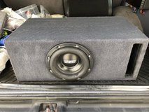 "Sundown 8"" sub w/ ported box in Okinawa, Japan"