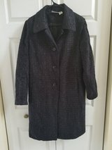 Womens sparkly black peacoat in Plainfield, Illinois