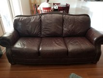 Leather Couch Set in Fort Bliss, Texas