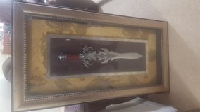 Short sword in frame in Camp Lejeune, North Carolina