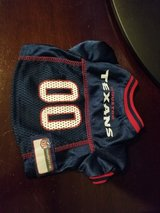 Houston Texans Pet Jersey in Lackland AFB, Texas