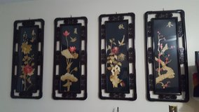 4 Chinese Art frames in Camp Lejeune, North Carolina