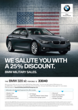 2018 BMW 320i xDrive - US Spec - Glacier Silver Metallic in Aviano, IT