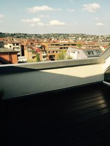 S-West Hi Tech Penthouse Wonderful roof terrace with brilliant city wiev. No fee. in Stuttgart, GE