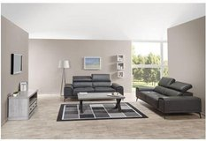 United Furniture - Freiburg Loveseat + XXL Loveseat - Leather - including delivery in Stuttgart, GE