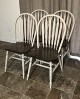 Solid Oak Dining Chairs Set in Cary, North Carolina